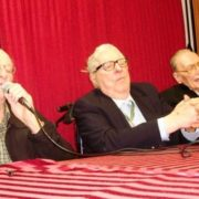 Ray Harrihausen, Ray Bradbury and Forrest J. Eckerman are three legends of the fantasy world. 2008