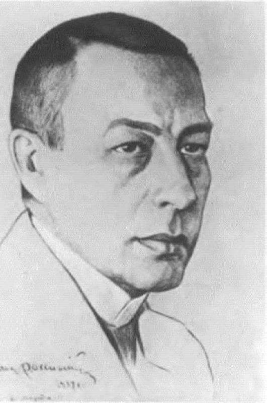Sergei Vasilievich Rachmaninov, a comrade of Scriabin