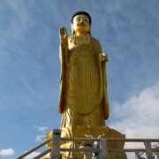 Statue of Young Buddha in Ulaanbaatar, Mongolia