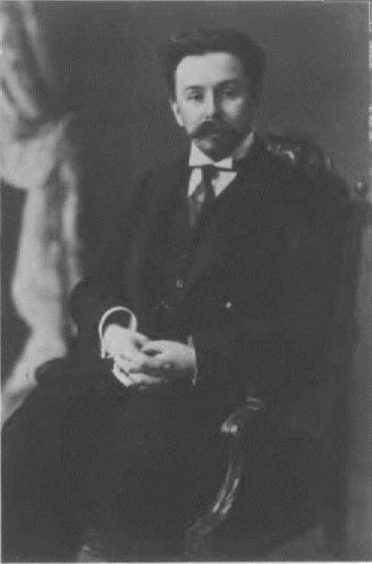Talented Alexander Scriabin, 1913