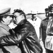 Valery Chkalov and Stalin