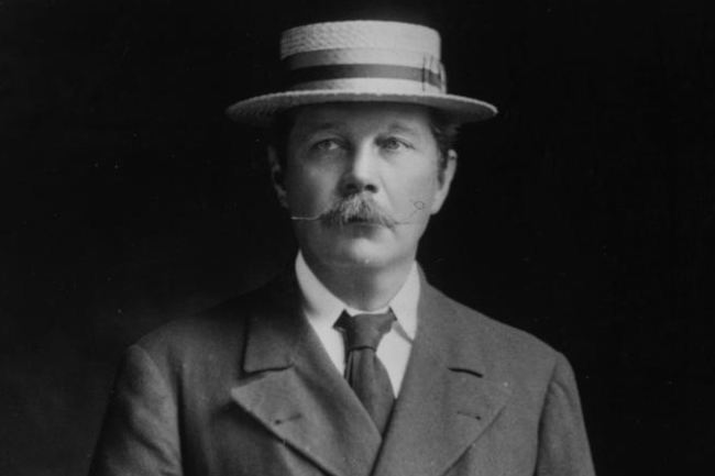 Well known Arthur Conan Doyle