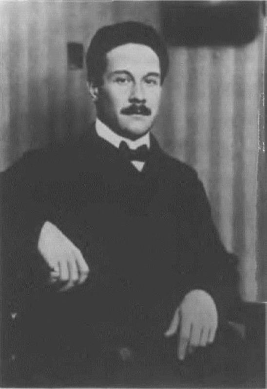 Yevgeny Gunst, a friend of Scriabin, who supported his family after the composer's death