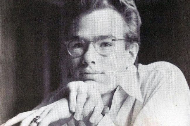 Andy Warhol in his student years