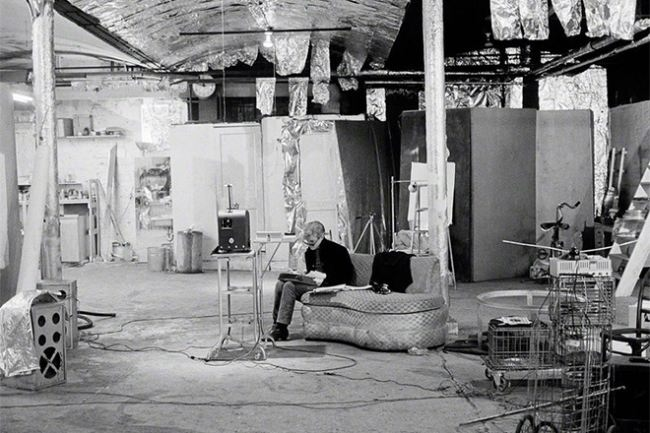 Andy Warhol's Factory Studio