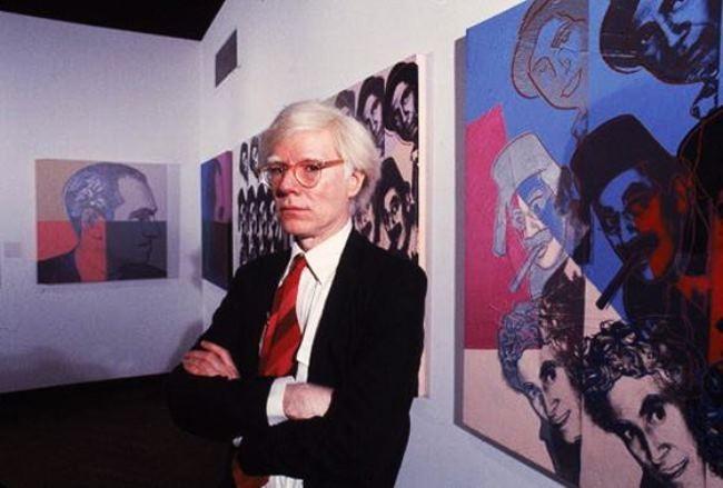 Charming Andy Warhol