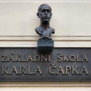 Famous writer Karel Capek