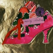 Merry Christmas shoe