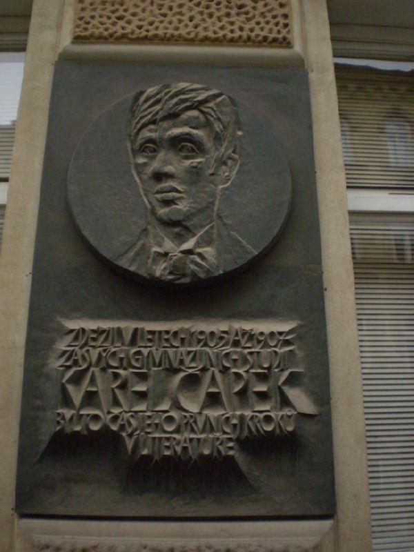 Renowned writer Karel Capek