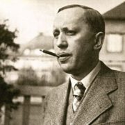 Talented writer Karel Capek