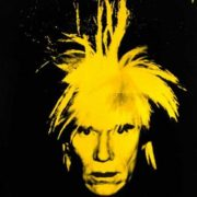 Yellow Warhol, 1986