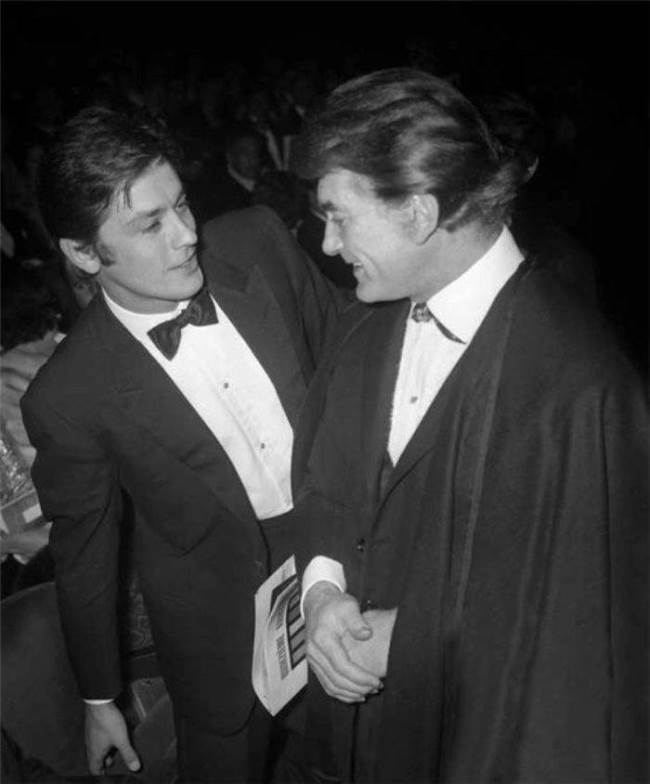 Alain Delon and Jean Marais