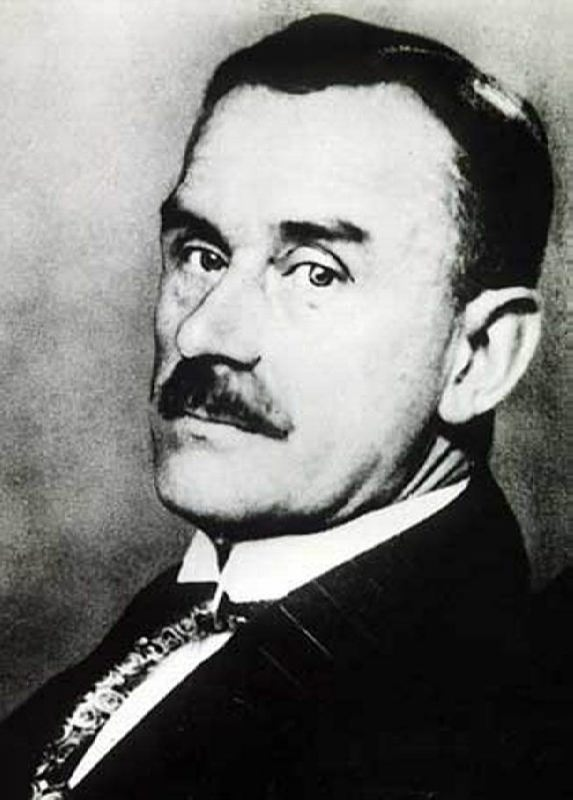 Celebrated Thomas Mann