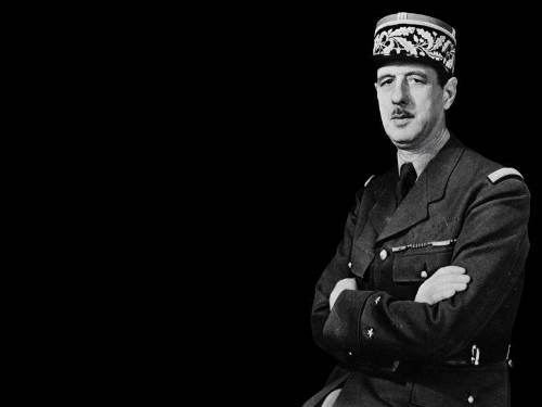 Charles de Gaulle - French general