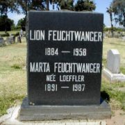 Grave of Lion Feuchtwanger
