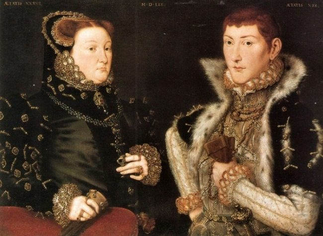 Jane Grey's parents - Lord Henry Grey and Lady Francis Brandon
