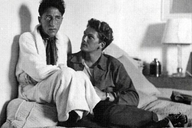Jean Cocteau and Jean Marais