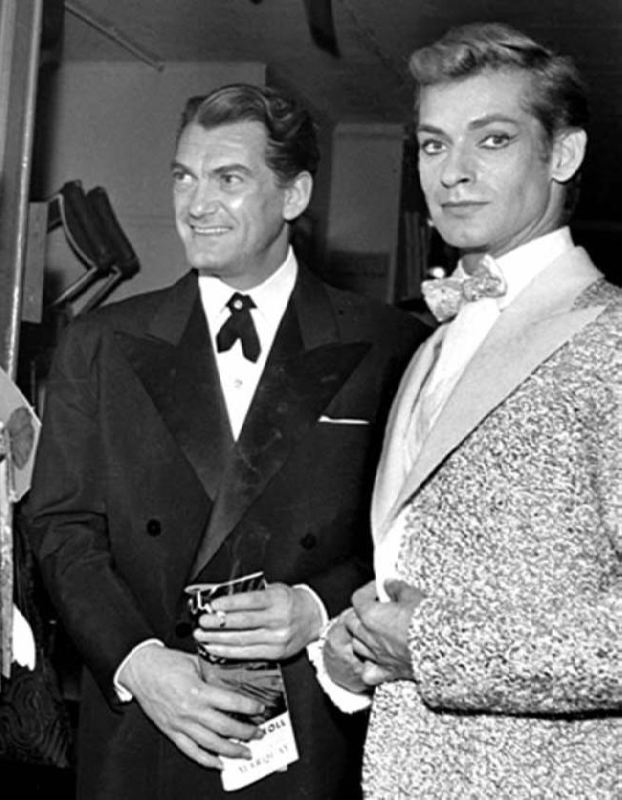 Jean Marais and Georges Reich