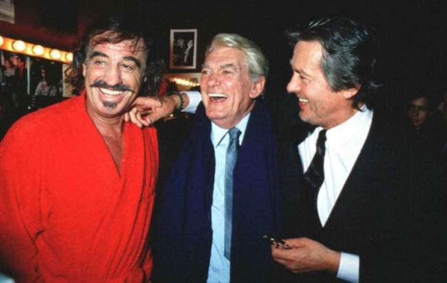 Jean-Paul Belmondo, Jean Marais and Alain Delon