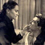 Maria Casares and Jean Marais