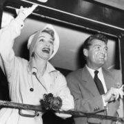 Marlene Dietrich and Jean Marais