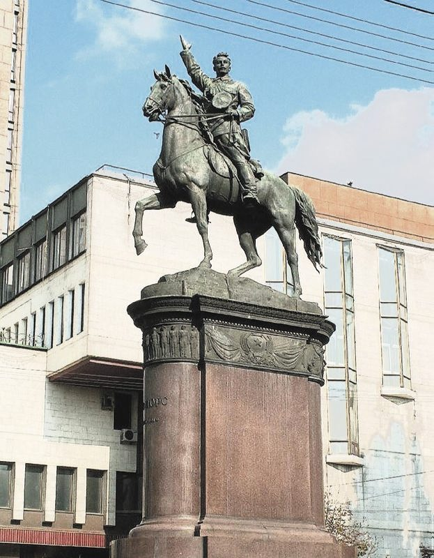 Monument to Nikolai Shchors in Kiev