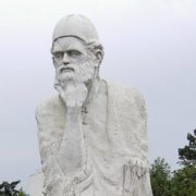 Monument to Omar Khayyam in Bucharest, Romania