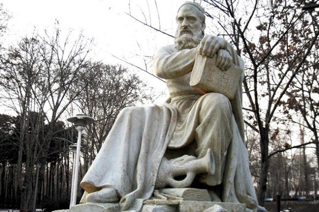 Monument to Omar Khayyam in Nishapur, Iran