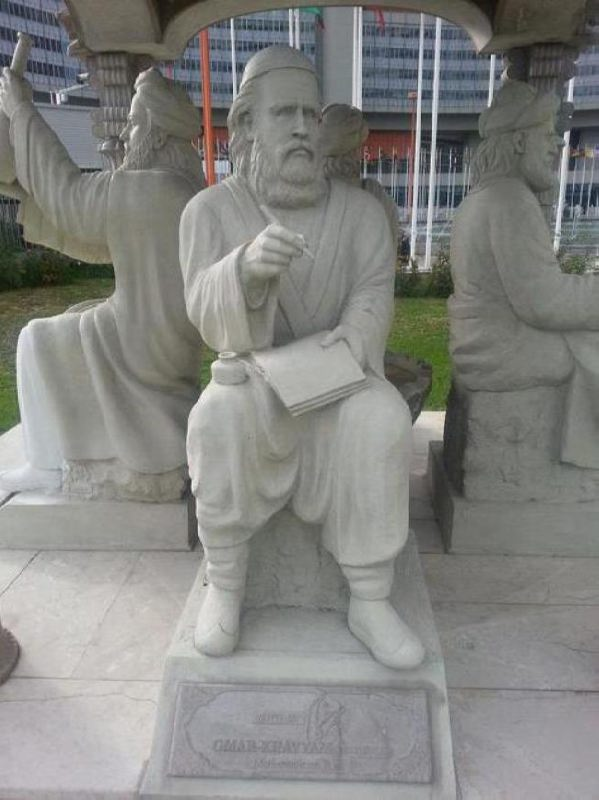 Monument to Omar Khayyam