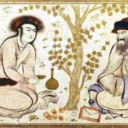 Persian miniature of the XVII century