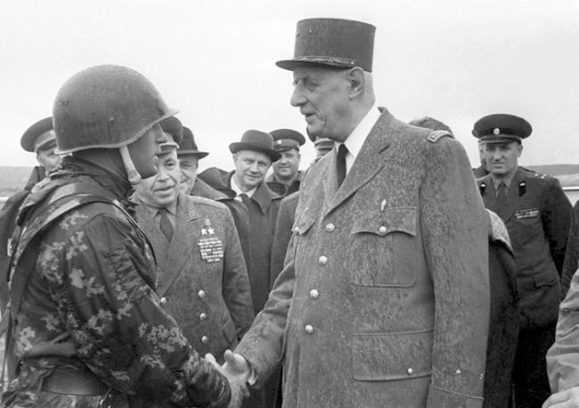 Prominent Charles de Gaulle