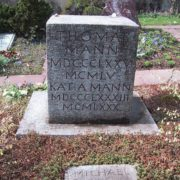 The Tomb of Thomas and Katia Mann in Switzerland