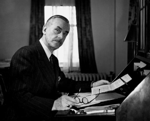 Thomas Mann - regarded German novelist