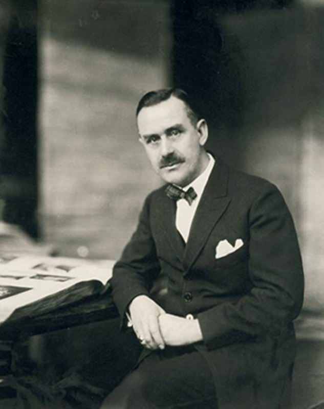 Well known Thomas Mann