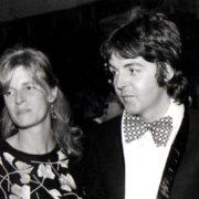1974. Paul and Linda McCartney