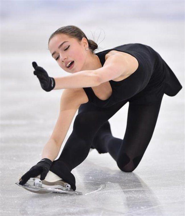 Amazing Alina Zagitova