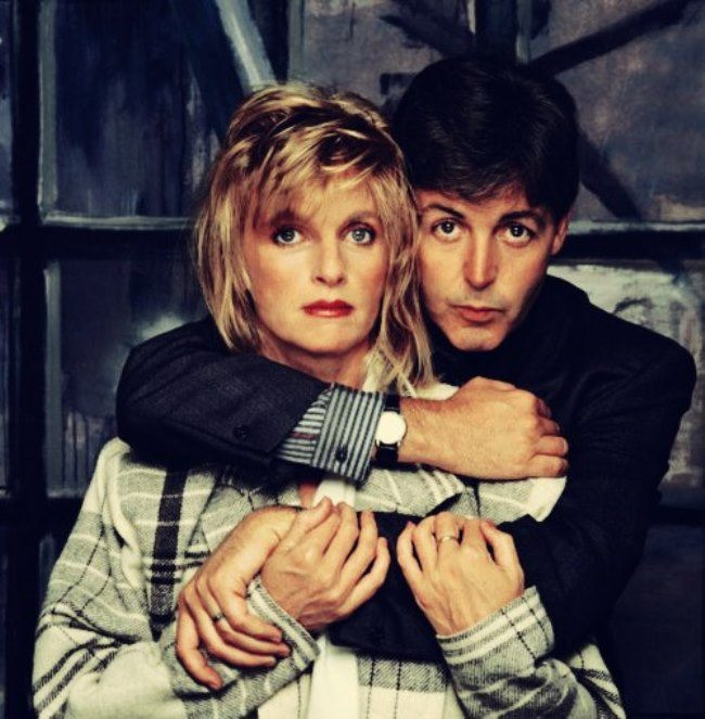 Amazing Linda and Paul McCartney