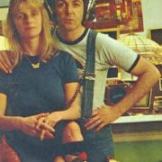 Charming Linda and Paul McCartney