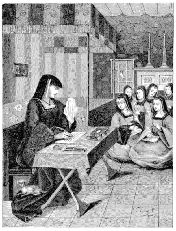 Court of the Ladies of Queen Anne of Brittany