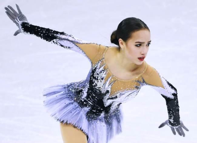Gorgeous Alina Zagitova