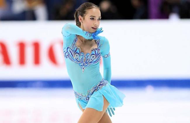 Great Alina Zagitova