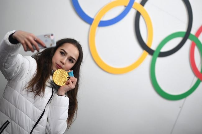 Interesting Alina Zagitova