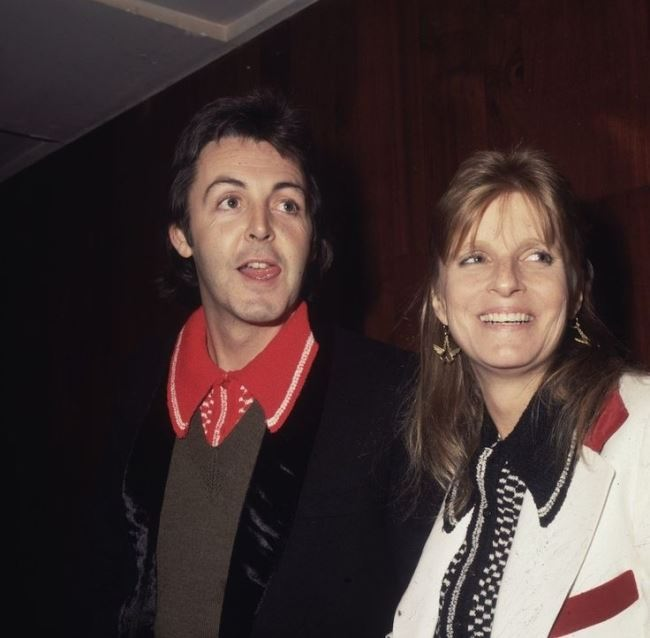 Interesting Linda and Paul McCartney