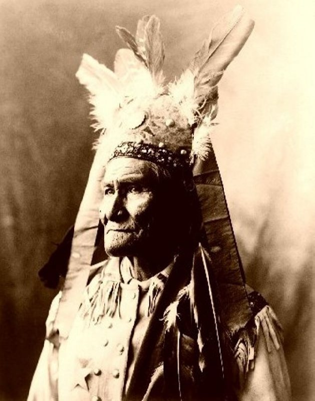 Legendary warrior Geronimo