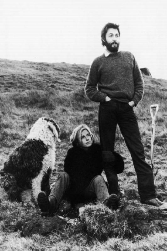 Lovely Linda and Paul McCartney