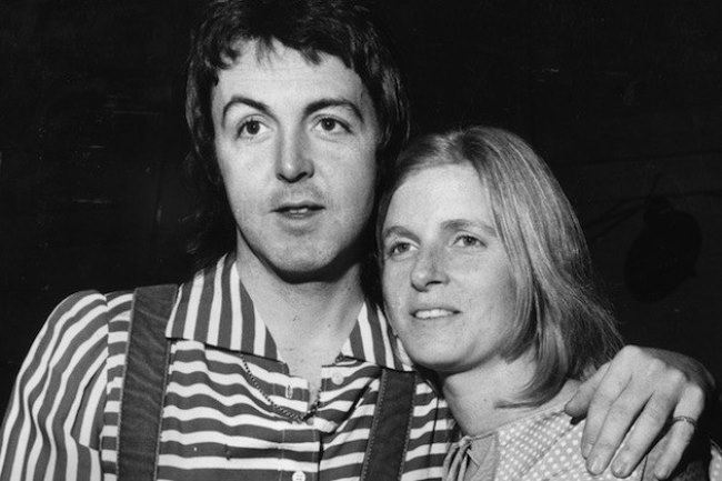 Magnificent Linda and Paul McCartney