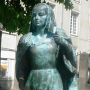 Monument to Anne of Brittany in Nantes