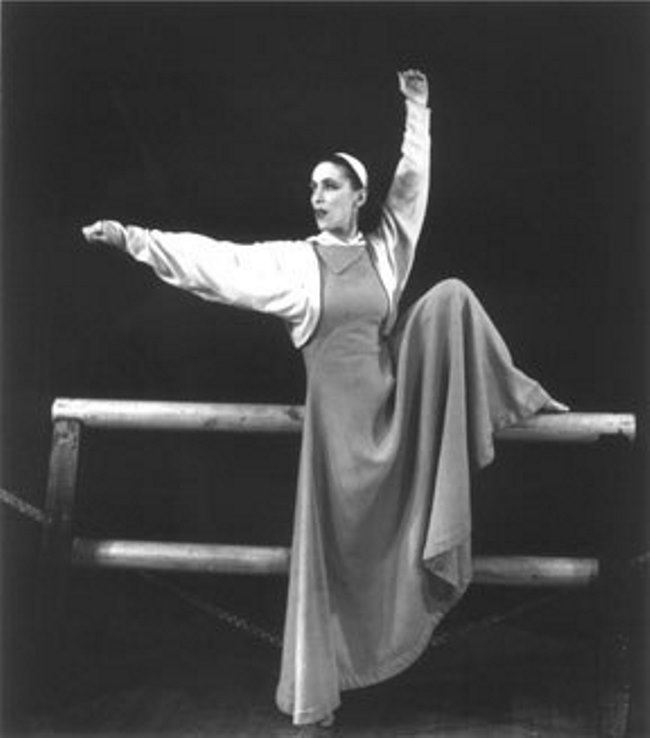 Pretty Martha Graham