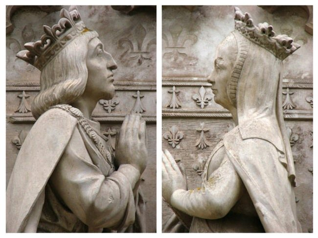 The Shrine of Anne of Brittany and Louis XII