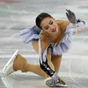 Well known Alina Zagitova